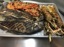 grill pesce